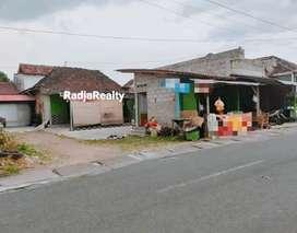 Kios Usaha dan Rumah Murah Pinggir Jalan Seputar PGRI Sonosewu