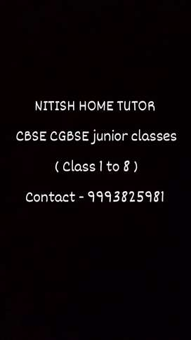 CBSE  CGBSE junior classes all subjects (class 1 to 8)*FREE DEMOCLASS*