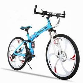 HUMMER 21 GEARS FOLDABLE CYCLE