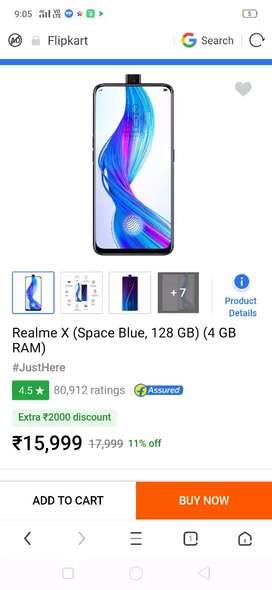 Realme x 6 day use