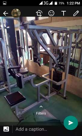 Rowing & pully machines