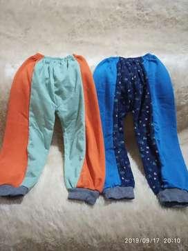 2 pcs celana panjang anak 2 tahun lucu murah