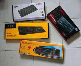 Aneka Keyboard USB bisa komputer dan laptop