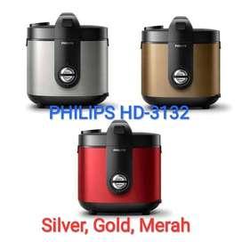 Philips Rice Cooker HD3132 magic com Philips 2 liter (garansi resmi)