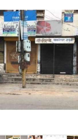 SHOP FOR SALE  WITHOUT ROOF OPP DR SARLA HOSPITAL GOBIND COLONY