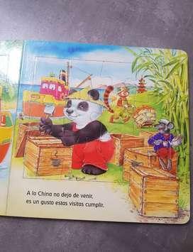 Buku cerita puzzle import