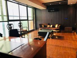 866 square feet fully furnished office for rent in gulberg