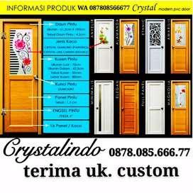 Pintu kamar Mandi terima ukuran custom/sesuai permintaan CRYSTAL