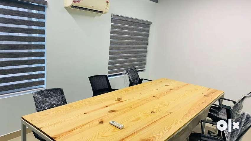 Furnished ac 1500 sqft 30 work station conference room