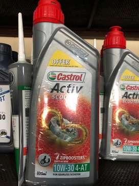 Rate 290.  Castrol oil activa 800ml