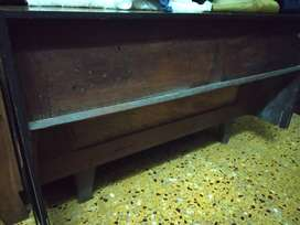 Wooden bed Furniture for sale