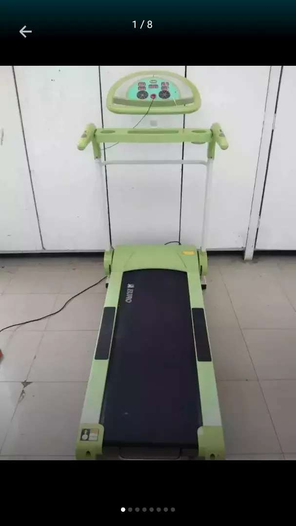 Euro Fitness Treadmil weight supported 120 0