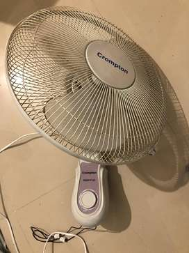 Crompton High Flo Wall-Fan with warranty