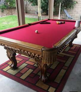 Pool table standard size 4x8 manufacturing