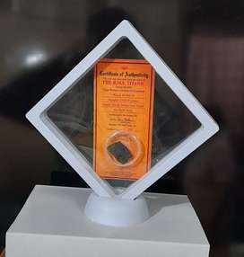 Antique Titanic Coal with Certificate and Display
