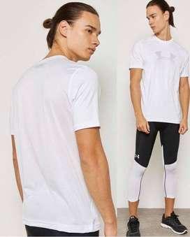 T-shirt ua big logo white