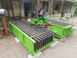 Sedia cetakan pagar beton siap dikirim