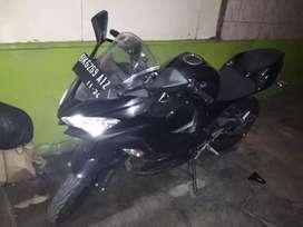 Jual kereta Kawasaki ninja warrior EX 250S