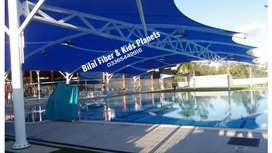 PVC car parking shades and marquees