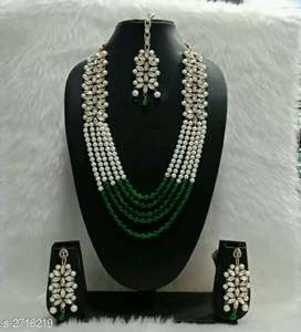 Pearl and Kundan necklace delivery before Diwali