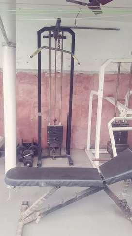 Gym Equipments used @ Home