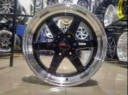 velg racing untuk mobil pajero fortuner BERETTA 6055 HSR R18X95 H6X139