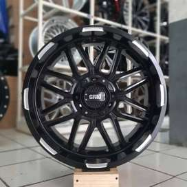 Velg Everest Fortuner Pajero Triton GRID  R20X9 hole 6x139.7 ET 10