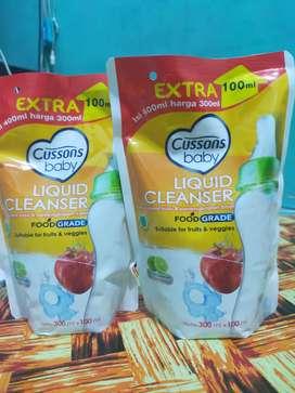 Liquid cleanser (pencuci botol susu dan perlengkapan bayi)