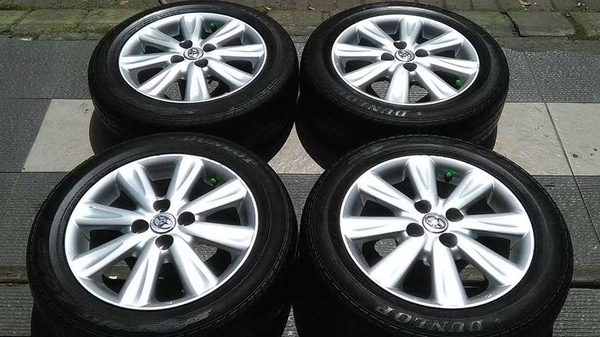 Oem Toyota Yaris Etios Valco Pcd 4x100 Velg Dan Ban Ring15 0