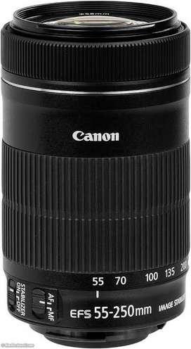 Canon lens 55/250