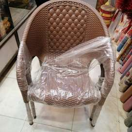 Plastic chairs sofa in full shine Cusion style