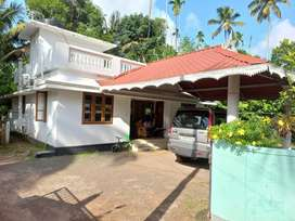 8 Cent plot, 3 bed rooms house for sale at Ponnore Thrissur 29 lacks