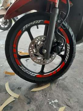 Sticker velg kekinian