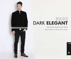 Korean Style - Blazer Korean Black Style