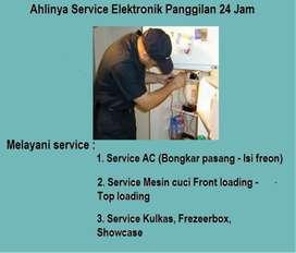 Jasa Perbaikan Kulkas 2pintu Mesin cuci SAMSUNG Kompor tanam/pompa air
