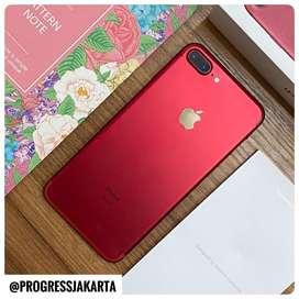 iPhone 7 Plus 128gb RED RED PRODUCT MULUS FULLSET BER GARANSI