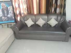 An 11 seater sofa set including a beautiful couch