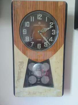 Antique home decoration vintage wall clock champion