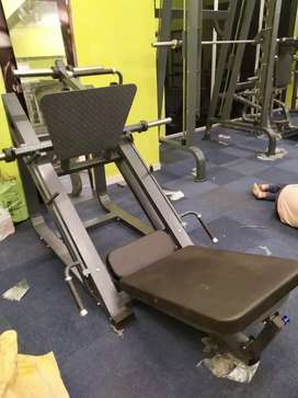 All gym equipments