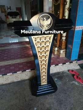 Mimbar masjid furniture podium ceramah