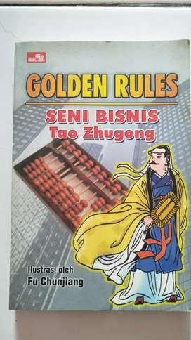 Di Jual Buku Golden Rules SENI BISNIS Tao Zhugong Original