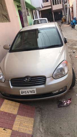Hyundai verna less driven with new tyres and battery