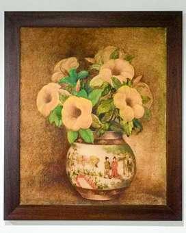 Lukisan Bunga Flamboyan sang maestro Dullah