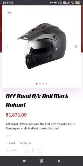 For bikers classy sporty VEGA HELMET