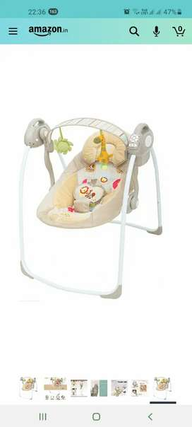 Best Bouncer with Soothing Music,Rocker Swing,Rocking Chair for Baby