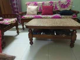 Pure Teak Sofa Set (3+2)
