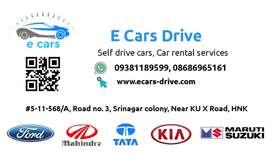 Self drive car in warangal, hnk