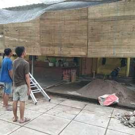 Tirai bambu moderen