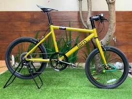 Sepeda Tern Crest Minivelo. Mulus 99% Like New. Grs 1th Rodalink