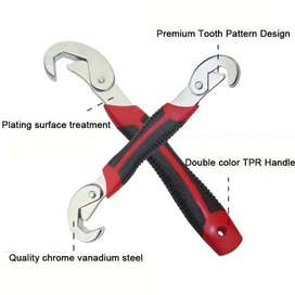 Pack of 2 - Snap n Grip Wrenches - Black & Red